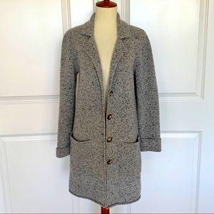 J. Crew Mercantile Long Wool Cardigan Sweater